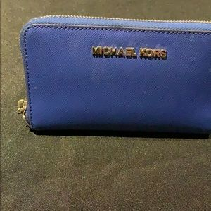 Michael Kors Blue wallet